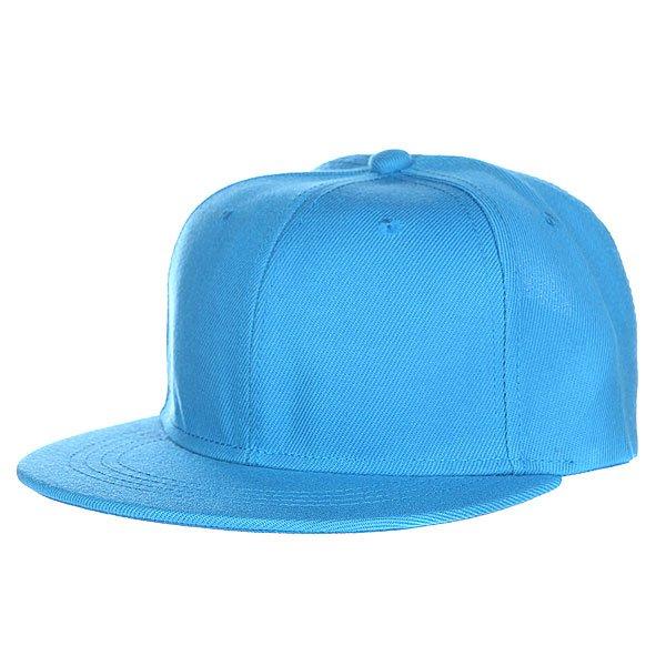 Бейсболка TrueSpin Blank Snapback Turquoise