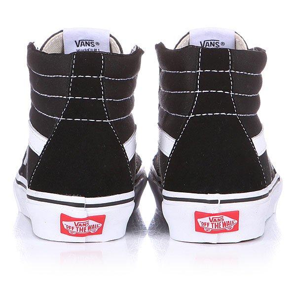 Кеды высокие Vans SK8 HI Black/White