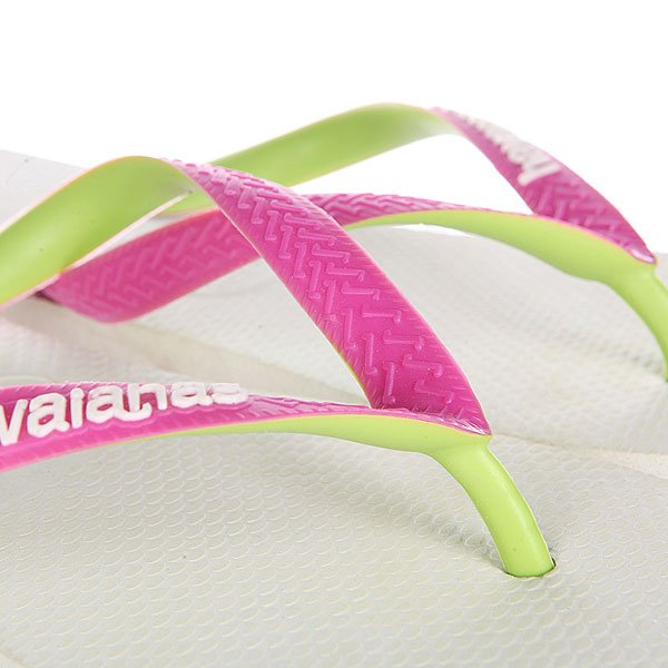 Вьетнамки Havaianas STen Top Mix White/Green/Pink