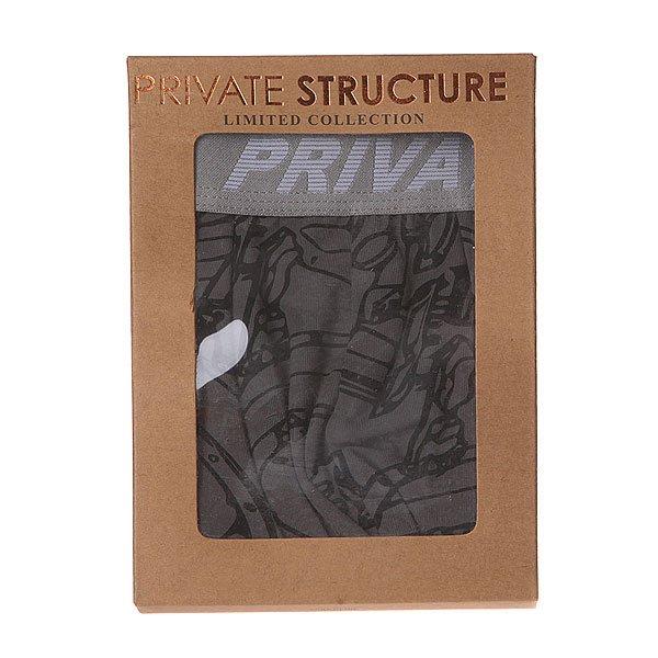 Трусы Private Structure 210-Mu-1066 Grey