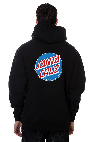 Толстовка Santa Cruz Classic Dot True Black