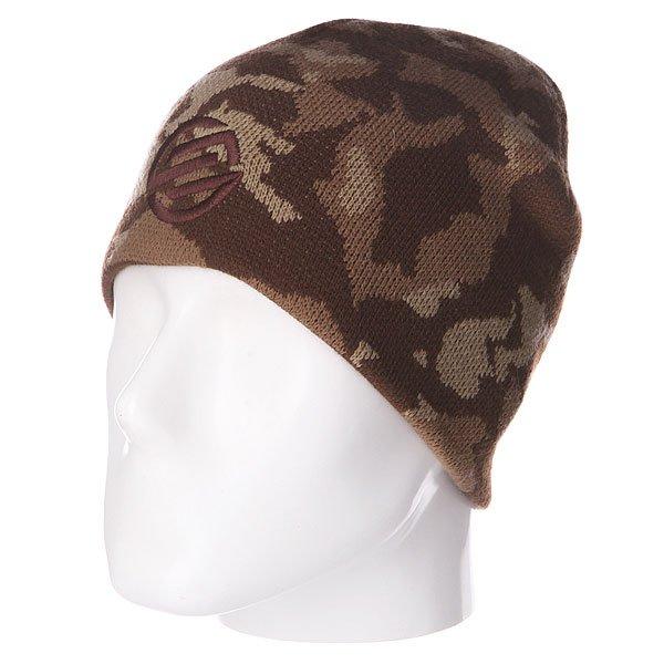 Купить шапку двусторонняя Santa Cruz Camo Knot Reversible Khaki в интернет-магазине Proskater.ru