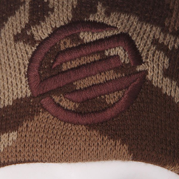 Шапка двусторонняя Santa Cruz Camo Knot Reversible Khaki