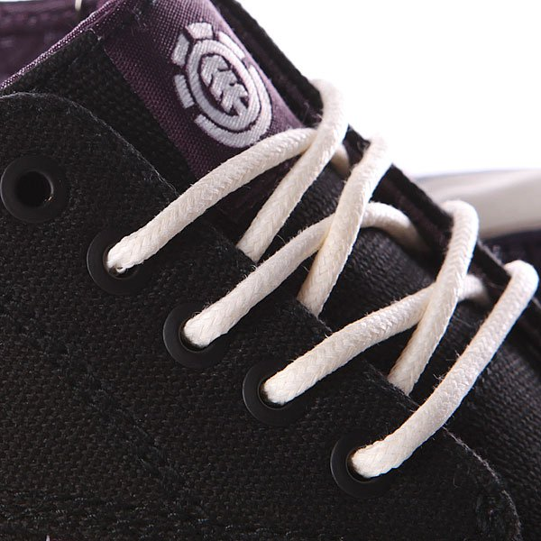 Кеды низкие Element Topaz Black Purple