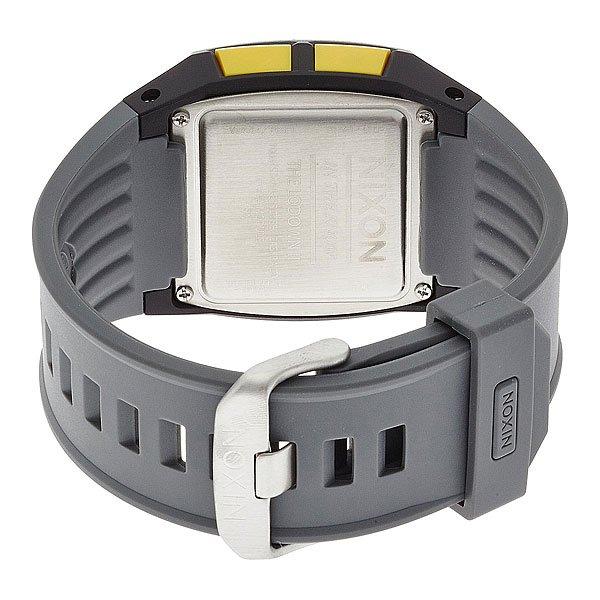 Часы Nixon Lodown Ii Black/Gray/Pop Stripe
