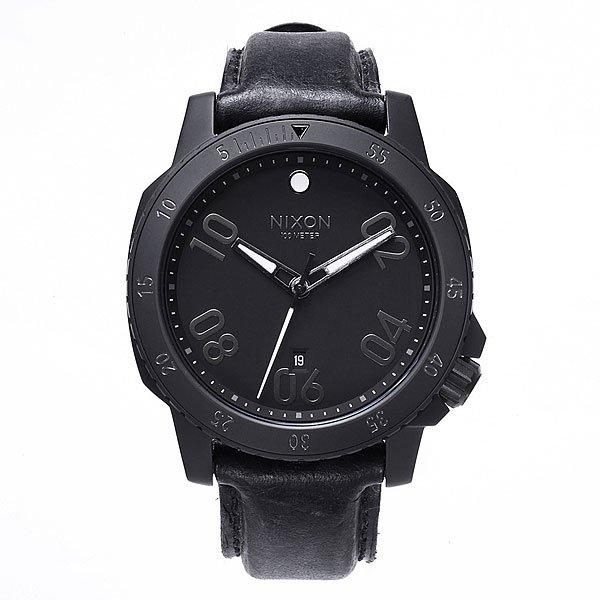 Часы Nixon Ranger Leather All Black
