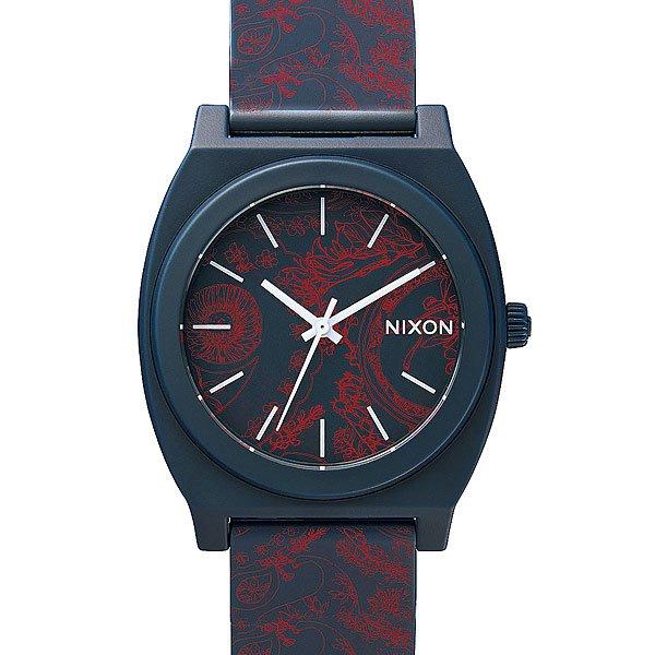 Часы Nixon Time Teller P Navy/Paisley