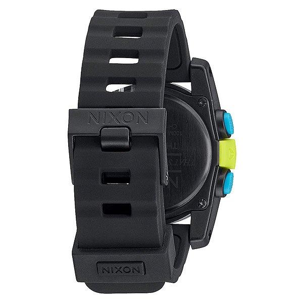 Часы Nixon Unit 40 Chartreuse/Blue/Black