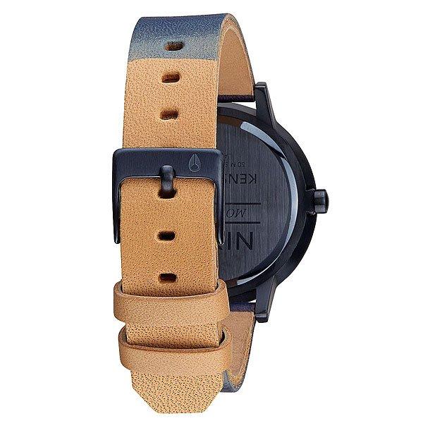 Часы женские Nixon Kensington Leather All Indigo/Natural
