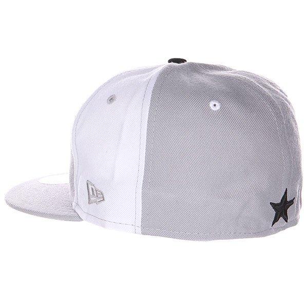 Бейсболка New Era Nor Cal Louisville 59 Fifty Grey/White