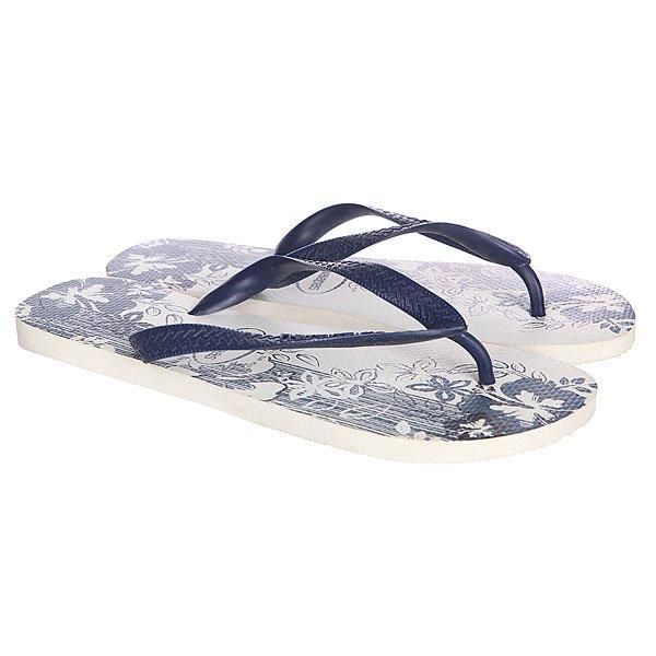 Вьетнамки Havaianas Eles Aloha White/Blue