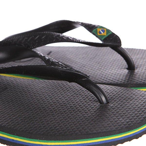 Вьетнамки Havaianas Eles Brasil Black