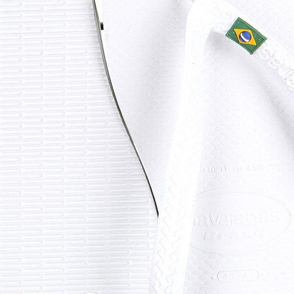 Вьетнамки Havaianas Eles Brasil White