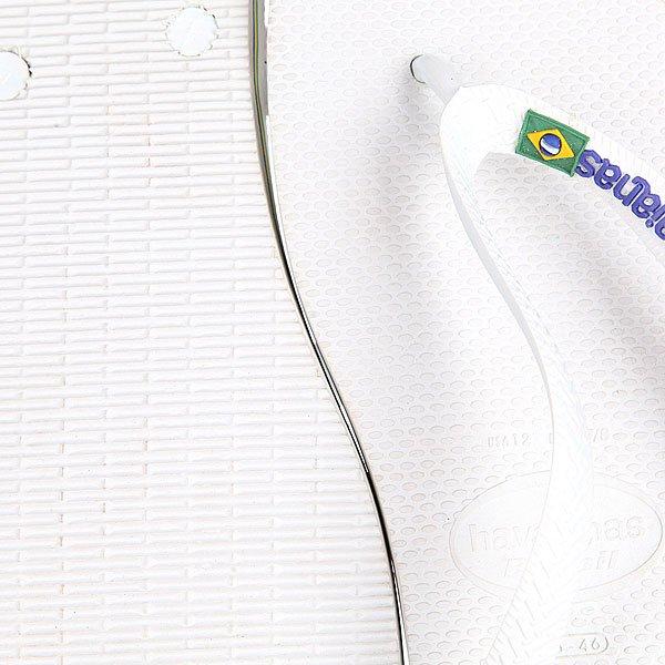 Вьетнамки Havaianas Eles Brasil Logo Tan