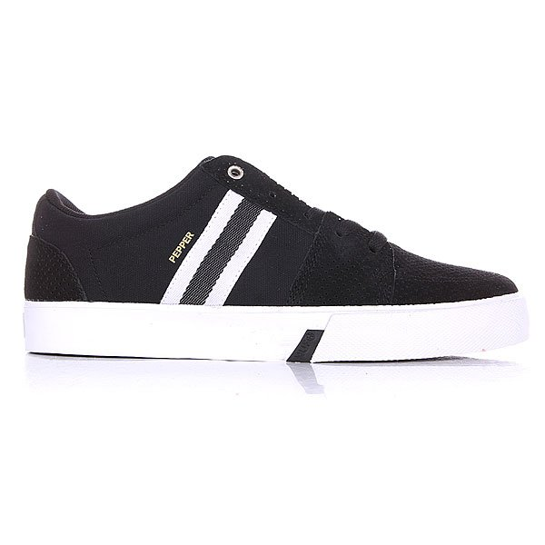 Кроссовки Huf Pepper Pro Black/White Perf