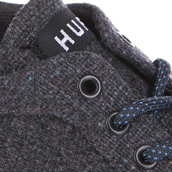 Кеды низкие Huf Sutter Dark Grey Textile