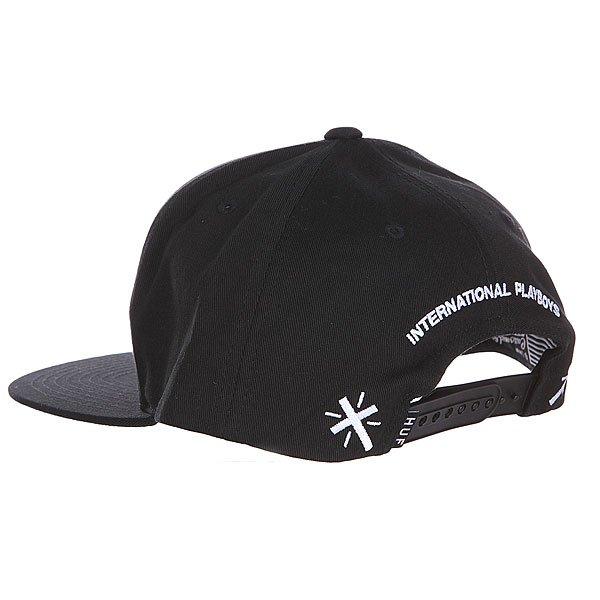Бейсболка Huf Uprock Snapback Black