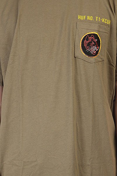 Футболка Huf Todd Francis Ratallion Pocket Tee Military