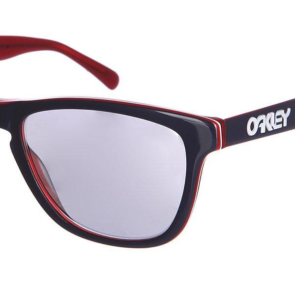 Oakley Frogskins LX Navy  Chrome Iridium Sonnenbrille