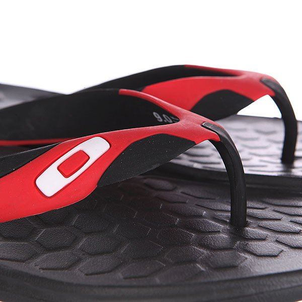 Шлепанцы Oakley Operative 2 Black/Red