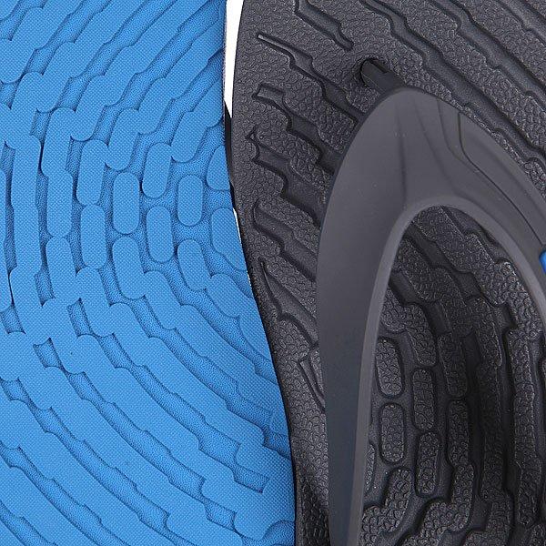 Шлепанцы Oakley Shorebreak Charcoal/Blue