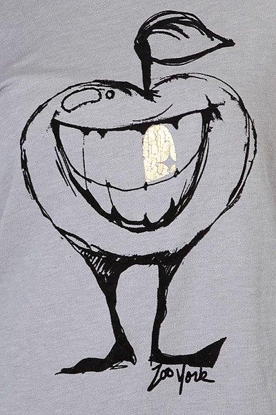 Джемпер женский Zoo York Rotten Apple Popover Grey Heather