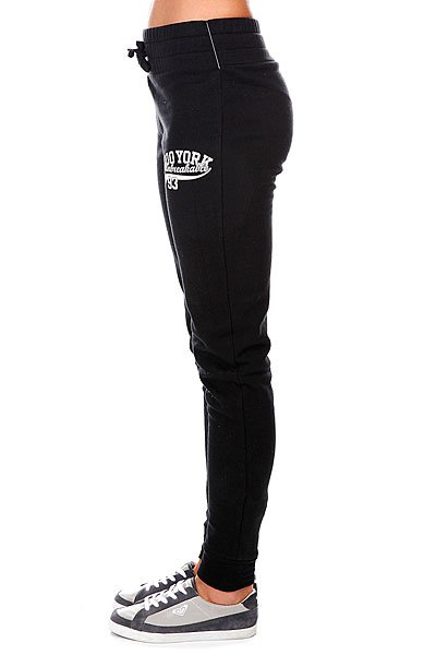 Штаны узкие женские Zoo York Bronxville Slugger Pant Real Black