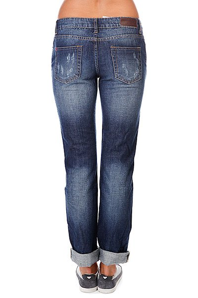 Джинсы женские Zoo York Skinny Fit Denim Destroy