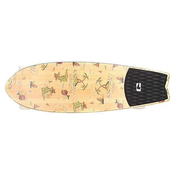 Скейт круизер Globe Sun City Complete Bamboo/Palms 9.1 x 30 (76.2 см)