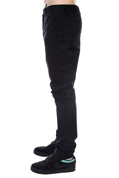 Штаны прямые Globe Goodstock Chino Black
