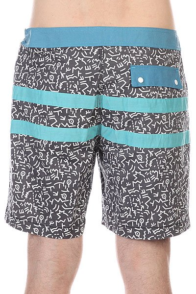 Шорты пляжные Globe Cayman Boardshort Black