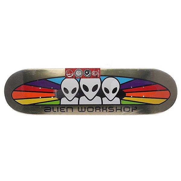 Дека для скейтборда Alien WorkShop (AWS) Su5 Spectrum Foil Large Multi 32.25 x 8.25 (21 см)