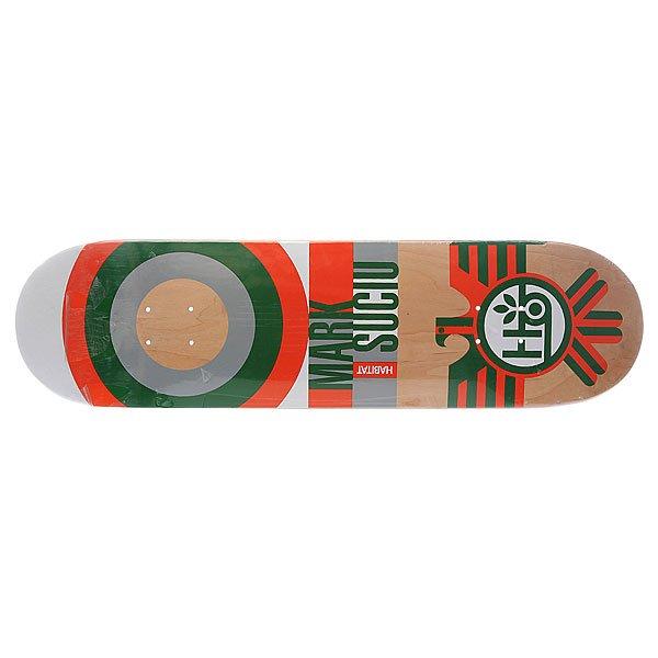 Дека для скейтборда Habitat Su5 Sucui Raptor Orange 32.5 x 8.25 (21 см)