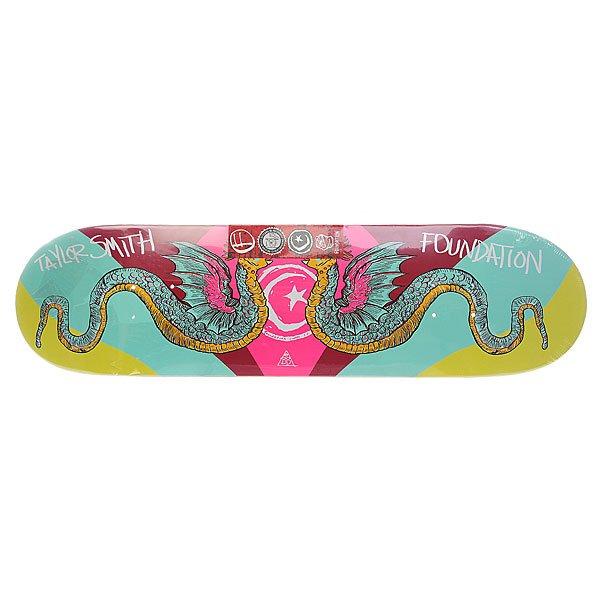 Дека для скейтборда Foundation Su5 Smith Serpents 32.25 x 8.25 (21 см)