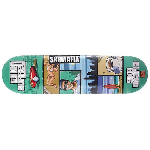 Дека для скейтборда Sk8mafia Surrey Gamer Green 32.12 x 8.19 (20.8 см)