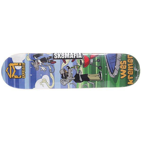 Дека для скейтборда Sk8mafia Kremer Sk8rats Small Multi 31.75 x 7.75 (19.7 см)