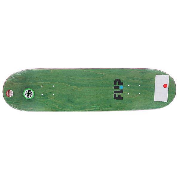 Дека для скейтборда Flip Majerus Iconoclastics Series Black/Blue 32.31 x 8.25 (21 см)