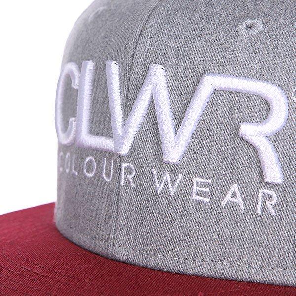 Бейсболка CLWR Cap Grey Melange
