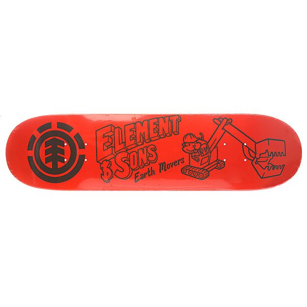 Дека для скейтборда Element Family Buziness Earth 32.25 x 8.0 (20.3 см)
