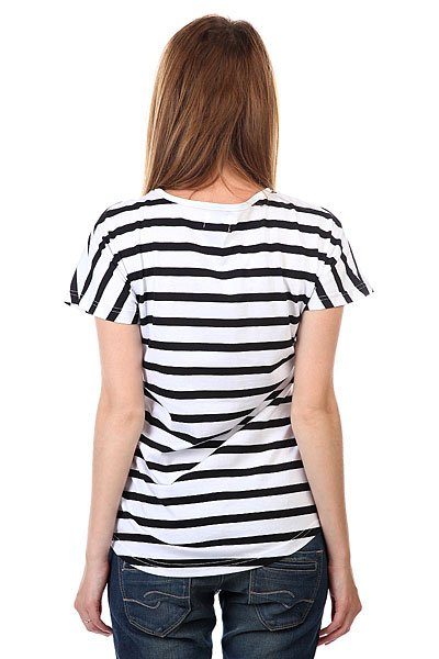 Футболка женская CLWR Holk Top Black Stripe