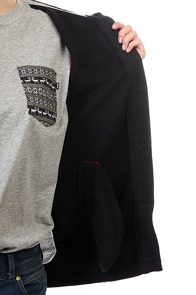 Толстовка женская CLWR Punk Hood Black