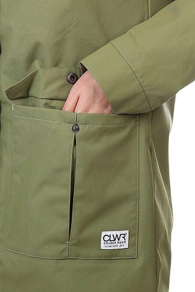 Куртка женская CLWR Jetty Parka Loden