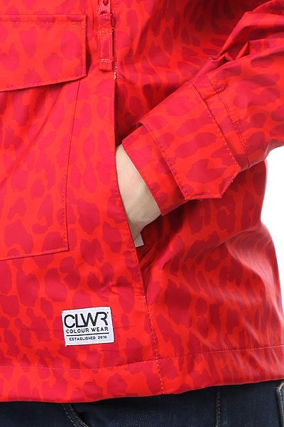 Ветровка женскаяCLWR Gale Jacket Red Leo