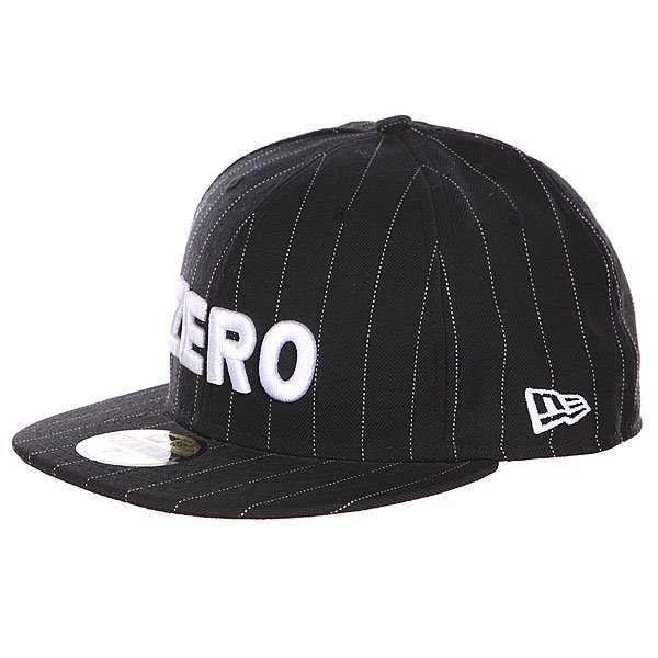 Бейсболка New Era Zero Army Pinstripe
