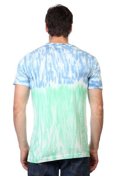 Футболка Altamont Octo Ring Tie Dye Tee Turquoise