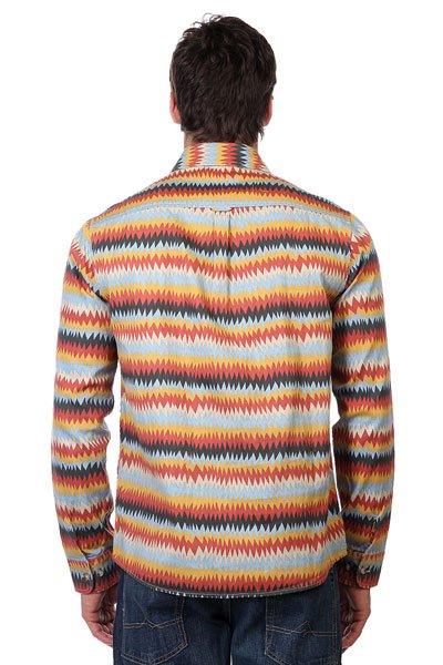 Рубашка Altamont Peyote Ls Woven Red/Gold