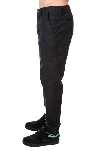 Штаны прямые Altamont Peyote Pant Black/Grey