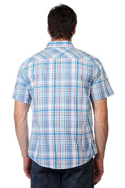 Рубашка в клетку Zoo York Enew15 Astoria Azure