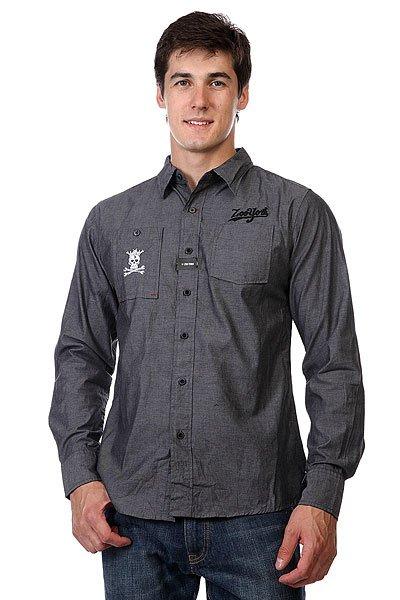 Рубашка Zoo York Enew15 Outlaw Black Chambray