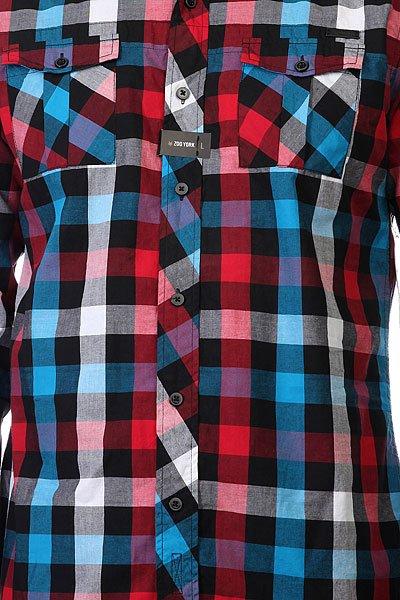 Рубашка в клетку Zoo York Enew15 Mercury Lounge Black
